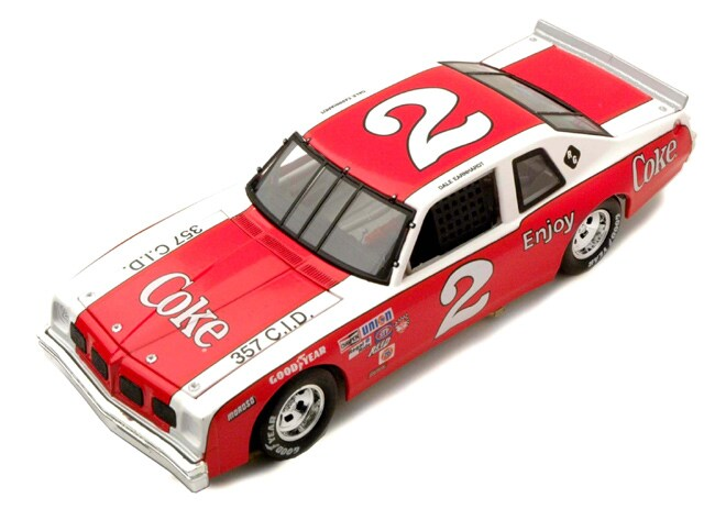 Dale Earnhardt Sr 1980 Legendary Coca Cola Diecast Car