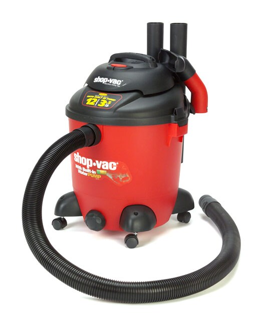 Shop Vac 3 5 Hp 12 Gallon Wet Dry Vacuum With Extra Pump