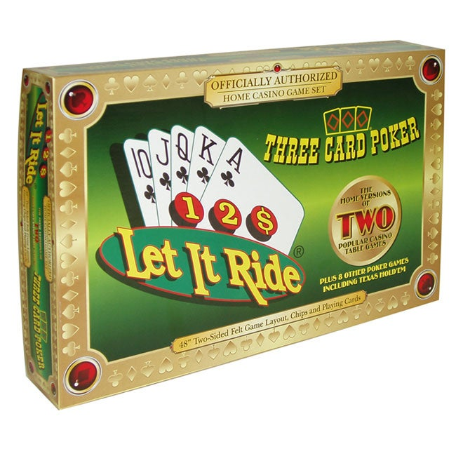 Let It Ride & 3 Card Poker Game