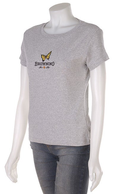 Browning Women's Ribbed Cotton Tee