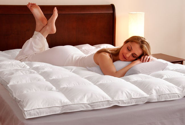 Beyond Down Synthetic Down Luxury Fiberbed