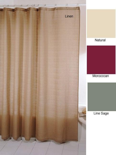 Park B. Smith Eco Thai Sheer Shower Curtain
