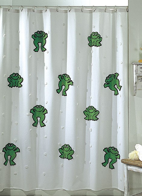 Park B. Smith Leap Frog Shower Curtain