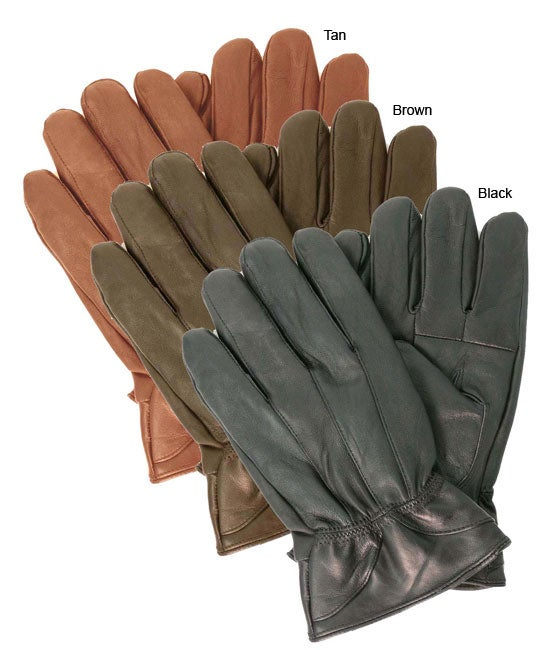Overstock mens leather gloves - Leather Gloves Free Shipping On Orders Over 45 Overstock Com