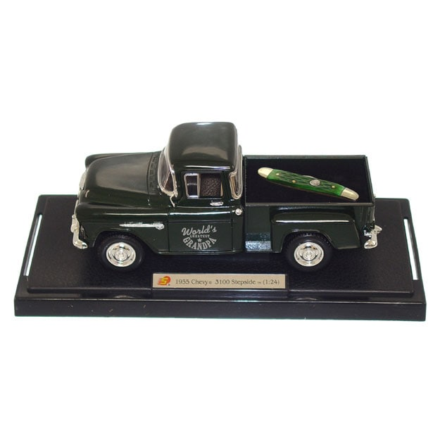Collectible World's Greatest GrandpaTruck and Knife Gift Set