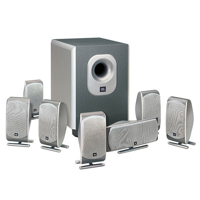 JBL SCS200.7 Complete 7.1-channel Home Cinema Speaker System