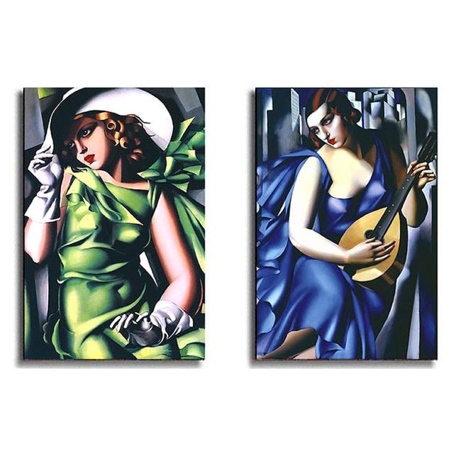 Tamara De Lempicka Stretched Canvas Art Collection