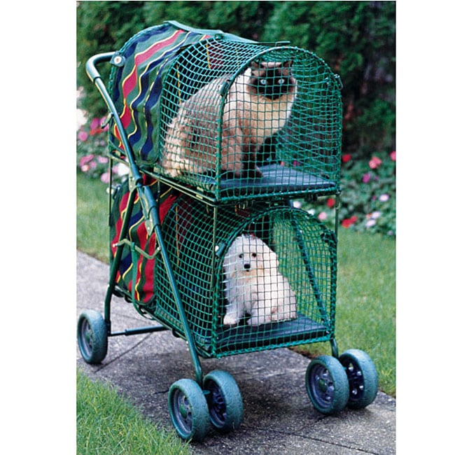 Cat Stroller With Litter Box