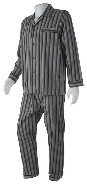 Majestic Men's Cotton Striped Pajamas