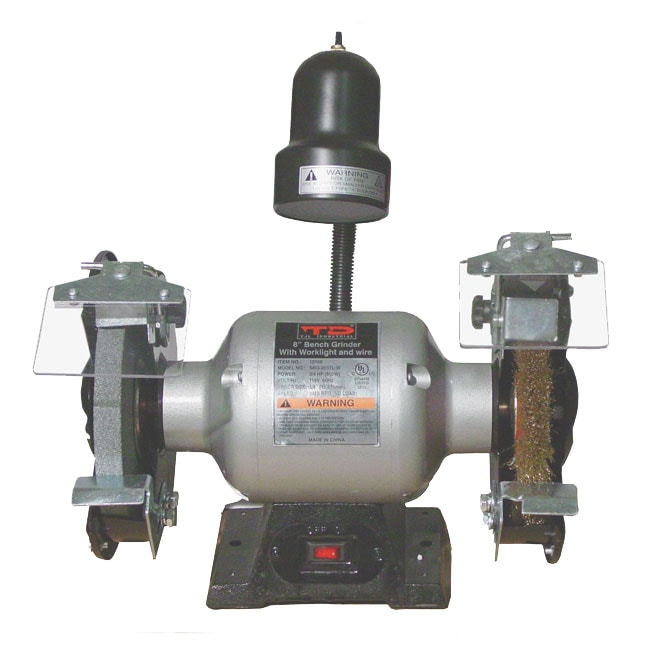 6 Inch Bench Grinder With Wire Wheel Free Shipping Today