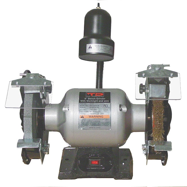 8 Inch Bench Grinder With Wire Wheel Free Shipping Today