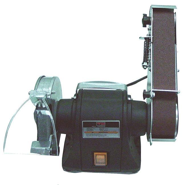 6-inch Bench Grinder & Belt Sander Combo