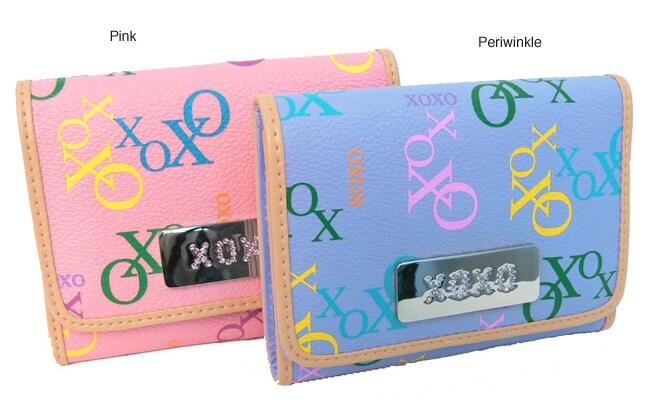 XOXO Sneak Attack Women's Tri-Fold Wallet