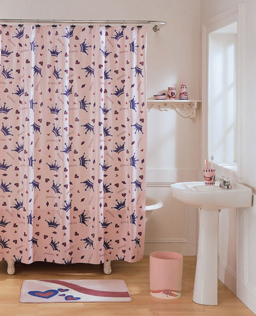 Shop Princess Vinyl Shower Curtain Free Shipping On Orders Over