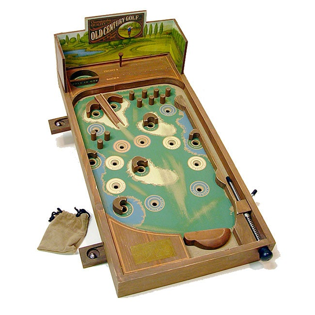 Pinball Golf Wooden Game - Free Shipping On Orders Over ...