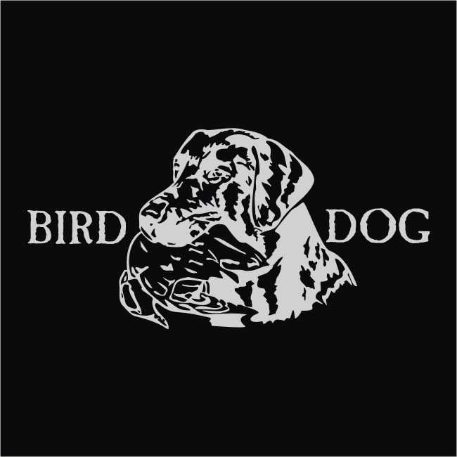 Set of 2 Vinyl Bird Dog Wildlife Window Decals