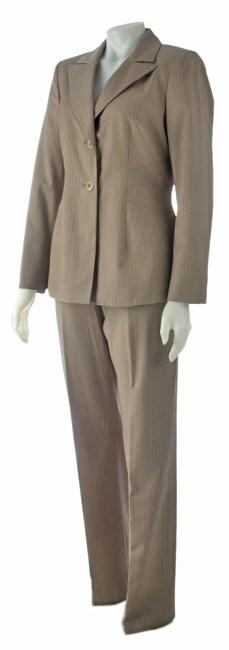 Sag Harbor 2-piece Beige Pant Suit