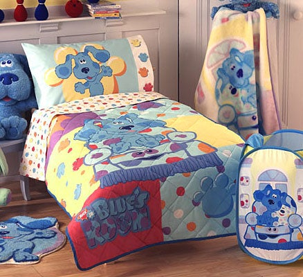 Blues Clues 4 Piece Toddler Bedding Set Free Shipping On