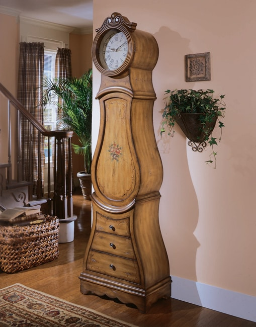 Shop Hand Painted Grandfather Clock Free Shipping Today