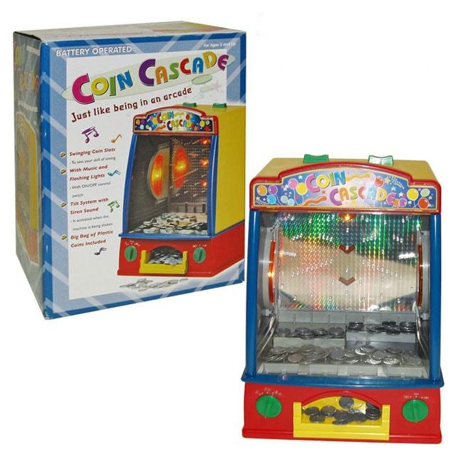 Coin Cascade Carnival Game
