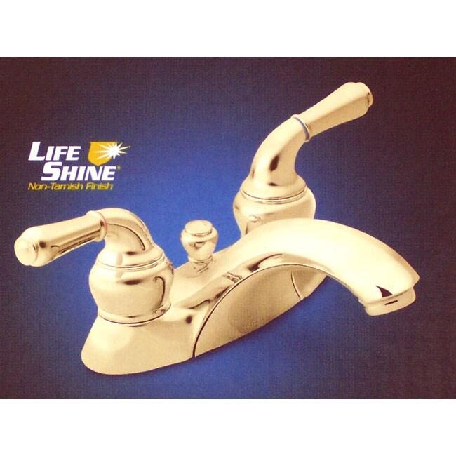 Moen Monticello Brass 4 inch Centerset Bathroom Faucet. Moen Monticello Brass 4 inch Centerset Bathroom Faucet   Free