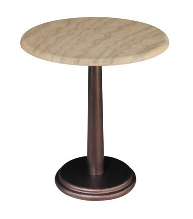 Faux-soapstone Cabaret Side Table