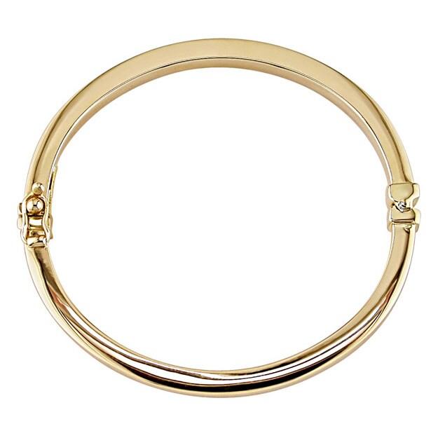14k Yellow Gold Baby Bangle Bracelet