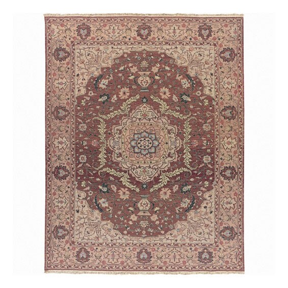 Nourison Millennia Rose Wool Rug (7'10 x 9'10)