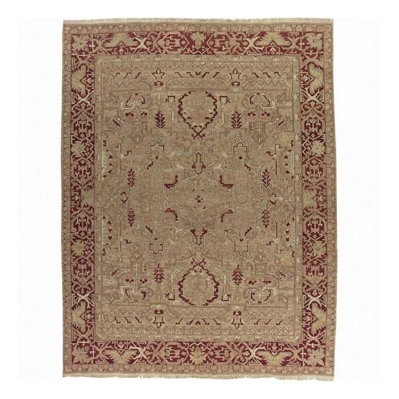 Nourison Millennia Gold Wool Rug