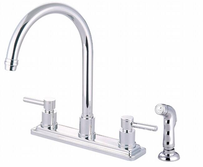 Concord Chrome Lever-handle Kitchen Faucet