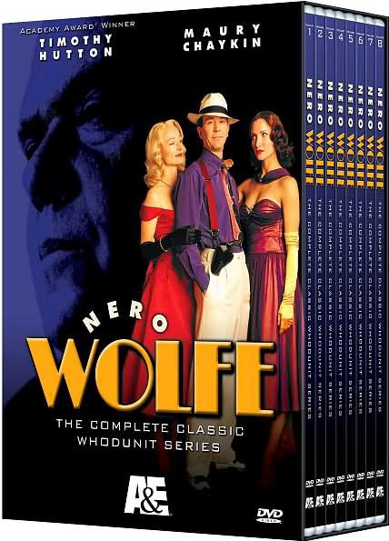 Nero Wolfe: The Complete Classic Whodunit Series (DVD)