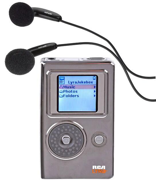 RCA RD2765 Lyra 5GB Digital Jukebox With Color LCD Screen RefurbiRCA