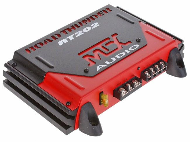 MTX Road Thunder RT202 Two-channel 200 Watt Car Audio Amplifier (Refurbished)