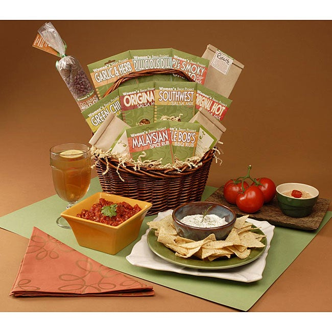 Summer Entertaining Gift Basket