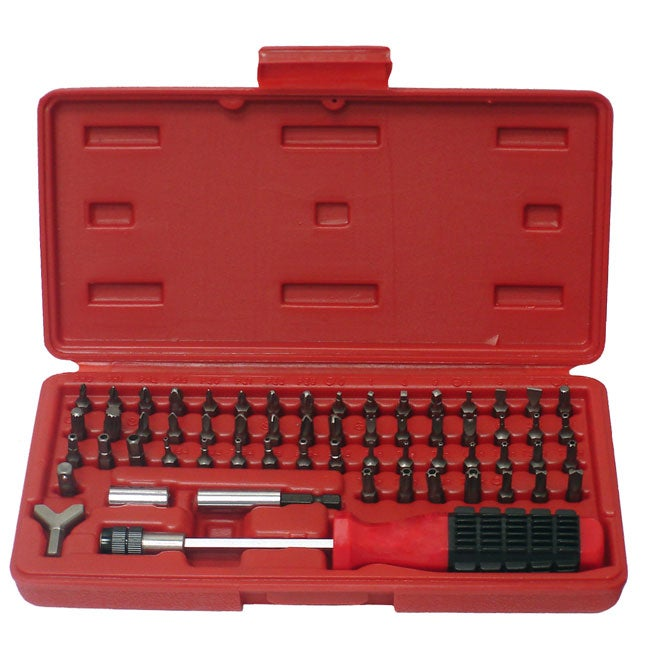 grip 60 piece security bit screwdriver set free shipping on orders over 45. Black Bedroom Furniture Sets. Home Design Ideas