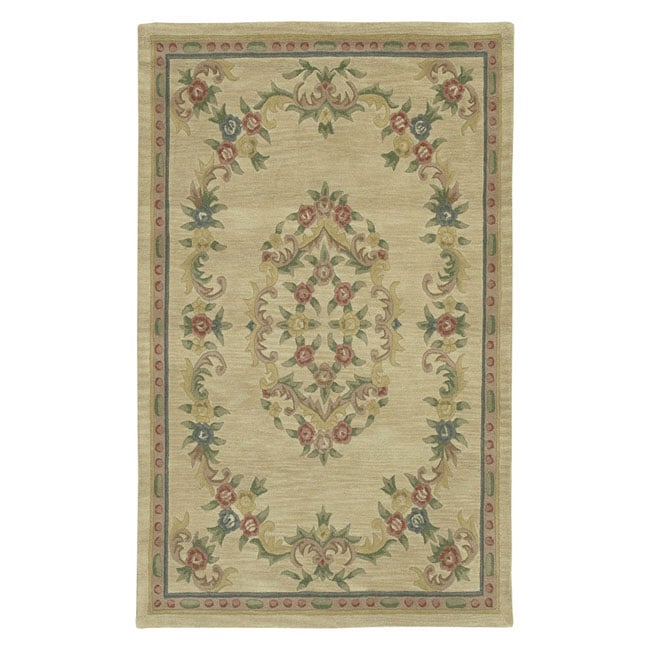 Aubusson Hand Tufted Wool Rug 5x7 Free Shipping Today