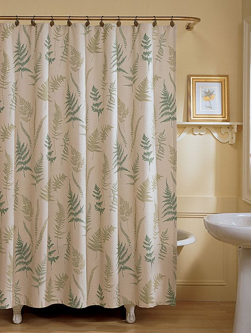 Fern Fabric Shower Curtain