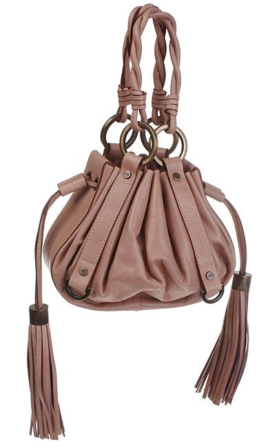 aceb65a985ae01 Shop Givenchy Small Pink Leather Pumpkin Handbag - Ships To Canada ...