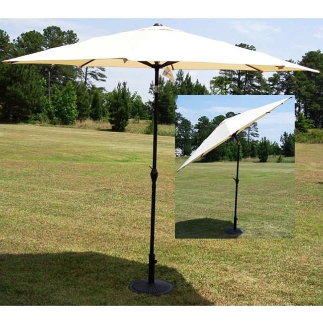 10 Foot Heavy Duty Aluminum Patio Umbrella