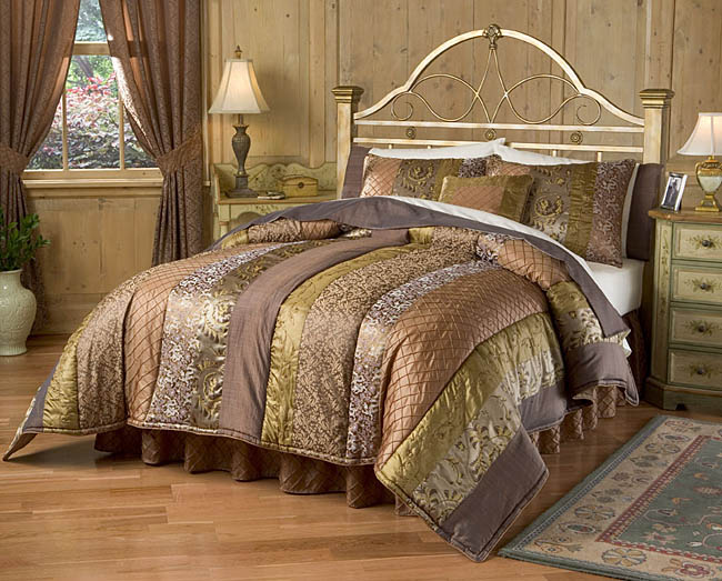 Tuscan Luxury Bedding Ensemble With 230tc Sheet Set Queen