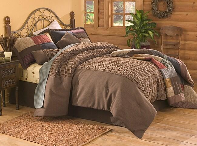 Columbia Mountain Path Comforter (Full Size)