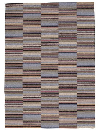 Nourison Hand-knotted Martha Multicolor Rug (5'6 x 7'8)