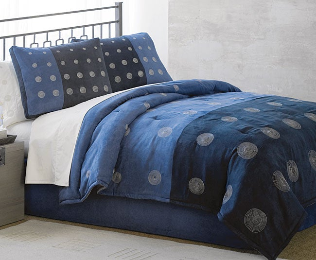 Table Tennis Blue Luxury Bedding Ensemble with 230tc Sheet Set