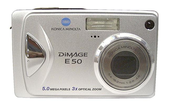 konica minolta dimage e50 50mp digital camera refurb - Konica Minolta Digital Camera