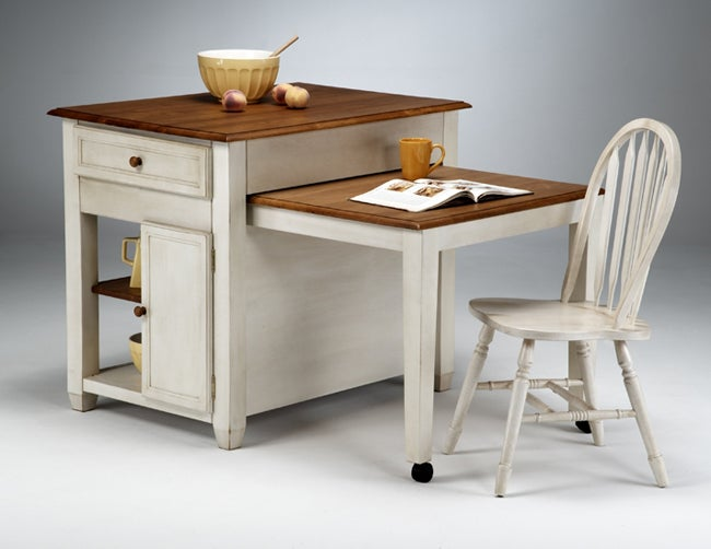 Kitchen Island With Pull Out Desk Amp Chair Free Shipping