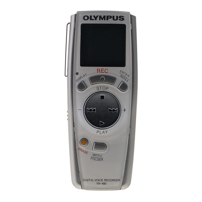 Olympus VN-480PC 8-hour Digial Voice Recorder (Refurbished)