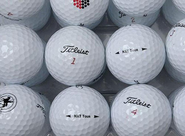 Titleist NXT Tour - 36-pack AAA Recycled Golf Ball (Refurbished)
