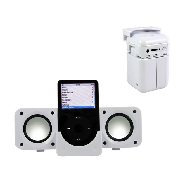 Portable Folding Speaker System for iPod/MP3 with USB