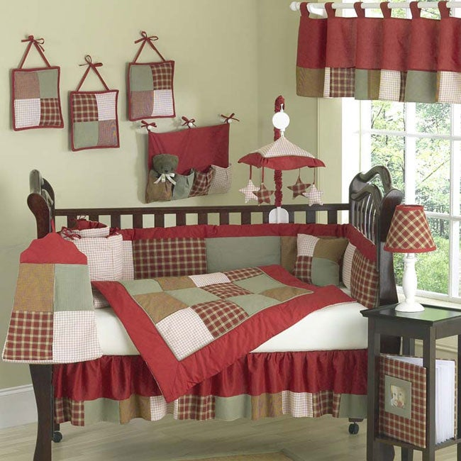 Casey S Cabin Country 12 Piece Crib Set Free Shipping