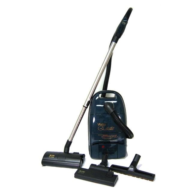 Dog Rug To Catch Dirt: EIO Varia Estate HEPA Canister Vacuum Cleaner